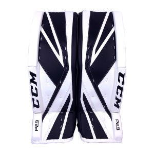 CCM-Premier-P2.9-Senior-Goalie-Pads-Black-White