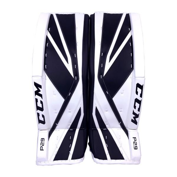CCM-Premier-P2.9-Senior-Goalie-Pads-Black-White