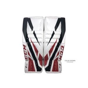 CCM-Extreme-Flex-E4.5-Junior-Goalie-Leg-Pads-Chicago